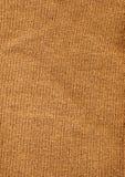 Het bruine Materiaal van de Wol Stock Afbeeldingen