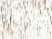 Het bruine meer linier deeltjes uitgaan Stock Illustratie