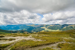 Het Bucegi-Plateau Stock Foto's
