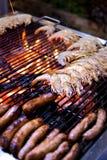 Het Buffet van de barbecue royalty-vrije stock fotografie
