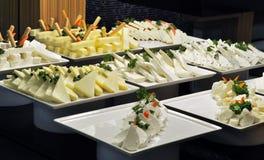 Het Buffet van de kaas Royalty-vrije Stock Foto