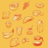 Het Buffet van het ontbijt Royalty-vrije Stock Foto