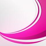 Het buigen van Volledige roze kleurensamenvatting op witte achtergrond Stock Foto's