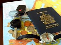 In het buitenland het reizen Royalty-vrije Stock Foto's