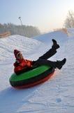 Het buizenstelsel van de sneeuw stock fotografie