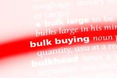 het bulkbuying Stock Afbeeldingen