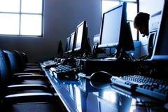 Het Bureau van IT Royalty-vrije Stock Foto's