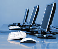 Het Bureau van IT royalty-vrije stock afbeelding