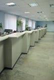 Het bureau van de bank Royalty-vrije Stock Afbeeldingen