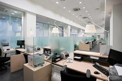 Het bureau van de bank stock foto's