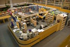 Het bureau van de bibliotheek Royalty-vrije Stock Afbeelding