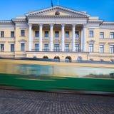 Het bureau van de eerste minister, Helsinki, Finland Royalty-vrije Stock Foto