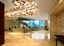 Het bureau van de hotelontvangst Royalty-vrije Stock Foto's
