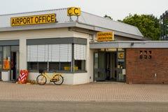 Het bureau van de luchthaven Stock Foto