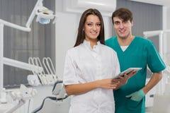 Het bureau van de tandarts royalty-vrije stock foto