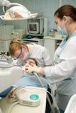 Het bureau van de tandarts Royalty-vrije Stock Fotografie