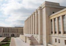Het Bureau van de Verenigde Naties in Genève Royalty-vrije Stock Foto