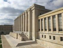 Het Bureau van de Verenigde Naties in Genève Royalty-vrije Stock Afbeelding