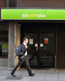 Het Bureau van de werkloosheid Royalty-vrije Stock Afbeeldingen