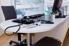 Het bureau van Doctor´s Royalty-vrije Stock Foto