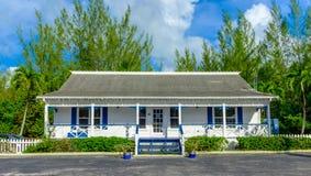Het Bureau van Grand Cayman Real Estate stock afbeeldingen