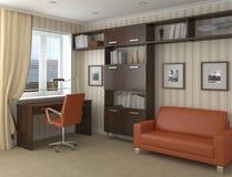 Het bureau van het huis. Royalty-vrije Stock Afbeeldingen
