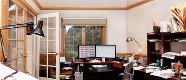 Het bureau van het huis Stock Fotografie
