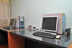 Het bureau van het huis stock afbeelding