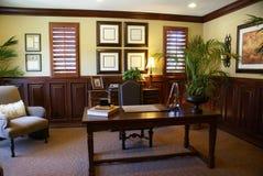 Het Bureau van het huis of Studie Stock Foto