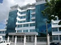Het Bureau van het immigratiehoofdkwartier in Dar-es-saalam Tanzania royalty-vrije stock foto