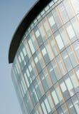 Het bureaufront van het glas in Glasgow, Schotland Stock Foto