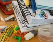 Het bureaulevering van de school Stock Afbeelding