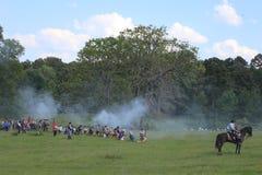 Het Burgeroorlogweer invoeren stock afbeeldingen