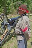 Het Burgeroorlogweer invoeren Royalty-vrije Stock Afbeelding