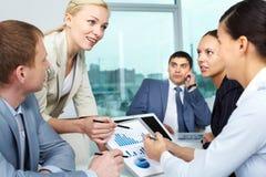 Het businessplan van  Royalty-vrije Stock Afbeeldingen