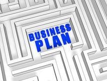 Het businessplan van  Royalty-vrije Stock Fotografie