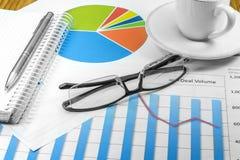 Het Businessplan van royalty-vrije stock foto's
