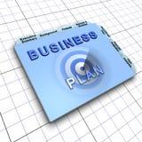 Het businessplandocument van  Royalty-vrije Stock Foto's