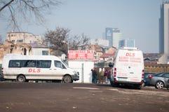 Het busstation van Boekarest dls Royalty-vrije Stock Foto's