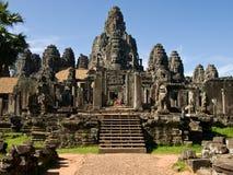 Het Cambodjaanse leven Stock Afbeeldingen