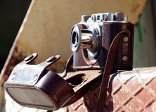 Het cameraeof royalty-vrije stock foto's