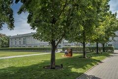 Het Canadese Centrum voor Architectuur CCA Royalty-vrije Stock Foto
