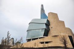 Het Canadese Museum voor Rechten van de mens Royalty-vrije Stock Foto