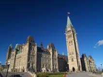 Het Canadese parlement Royalty-vrije Stock Foto's