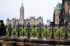 Het Canadese Parlement Stock Foto
