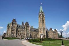 Het Canadese Parlement Stock Foto's