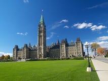 Het Canadese parlement Stock Fotografie