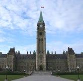 Het Canadese Parlement Ottawa Stock Afbeelding
