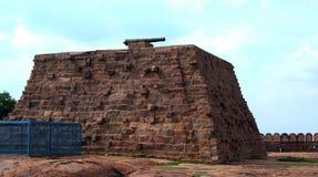 Het canonstadium van fort Royalty-vrije Stock Fotografie