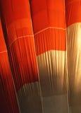 Het canvas van de hete luchtballon Royalty-vrije Stock Afbeeldingen